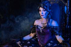 Madame Leota Throne