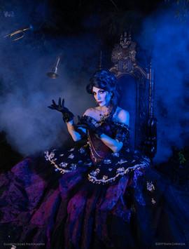 Madame Leota Throne & Magic