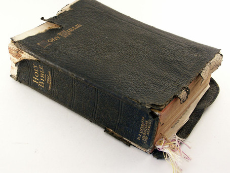 My Bible is Falling Apart!