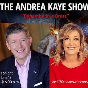Rod Hatley Guest on Andrea Kaye Show