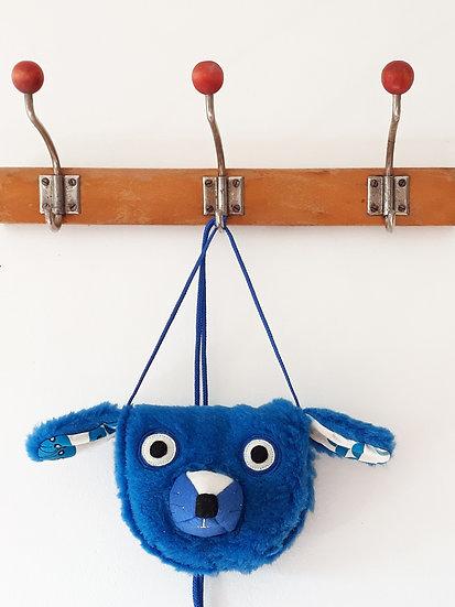 Pejsek zářivě modrý