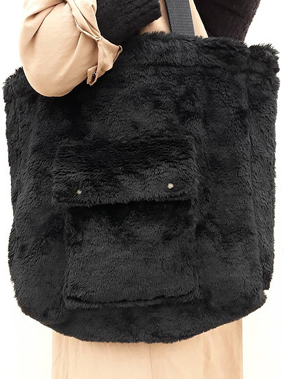 Černá teddy bag