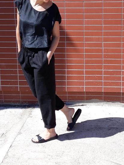 Lněné kalhoty – různé odstíny