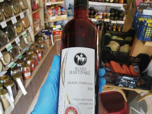 Svatomartinské víno 2020