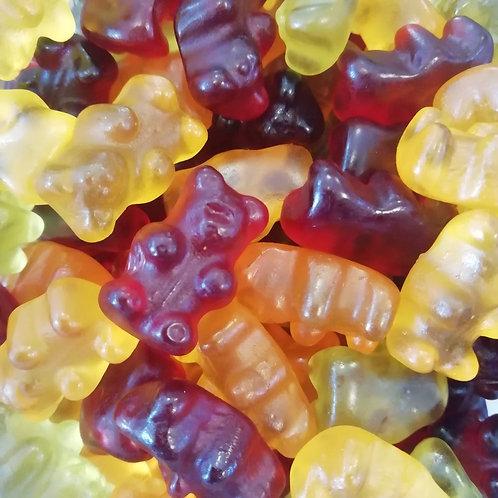 Ovocní medvídci bez želatiny