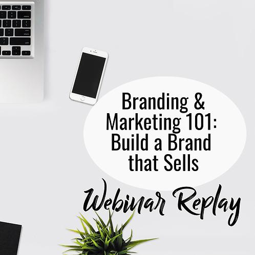 Branding and Marketing Workshop REPLAY