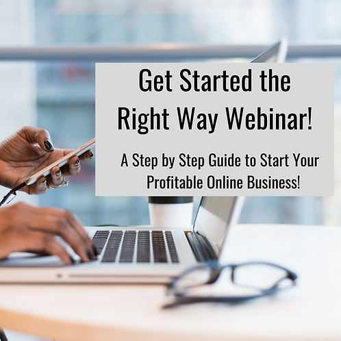 The Guide to Start Your Online Business Webinar