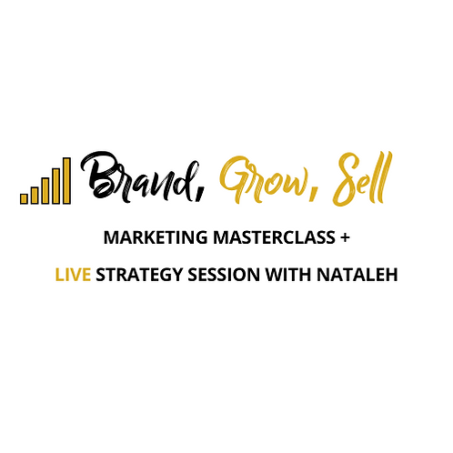 Brand, Grow Sell Marketing Course