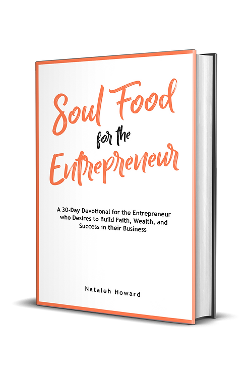 Soul Food for the Entrepreneur (Ship by 4/2/21)