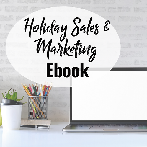 Holiday Sales and Marketing eBook