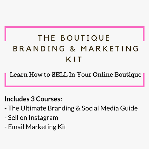 The Complete Branding and Marketing Kit
