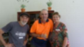 Parishoners at Kinglake Anglican Church