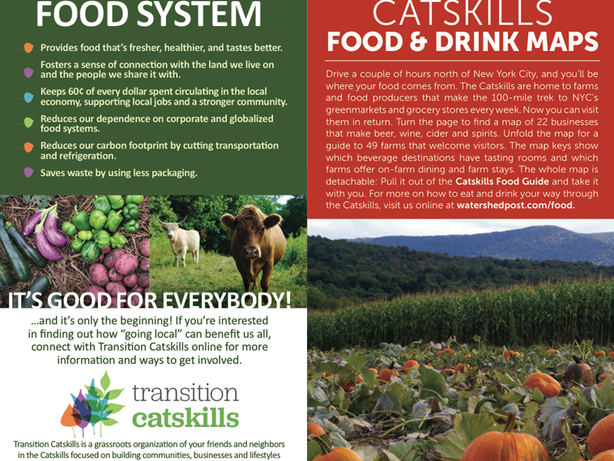 Grab a Copy of the 2015 Catskills Food Guide and Map!