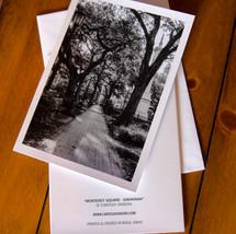 Monterey Square ~ Savannah Greeting Card