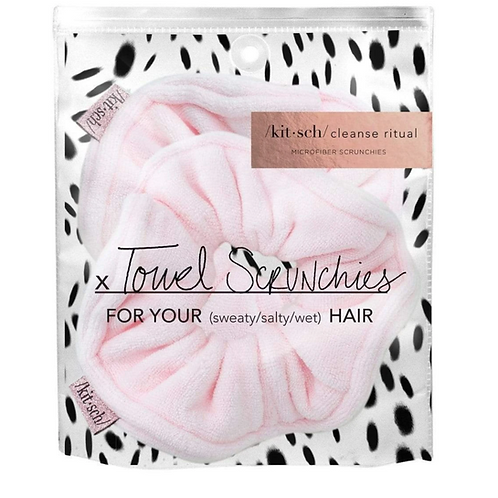 Kitsch Blush Microfiber Towel Scrunchie