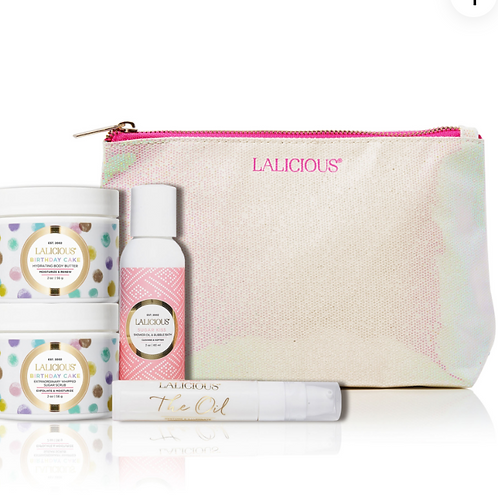 Lalicious Birthday Cake Celebration Mini Set