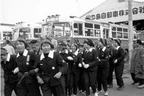 川中島バスの女性ストライキ