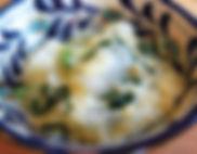 大根と青菜のもちきび煮