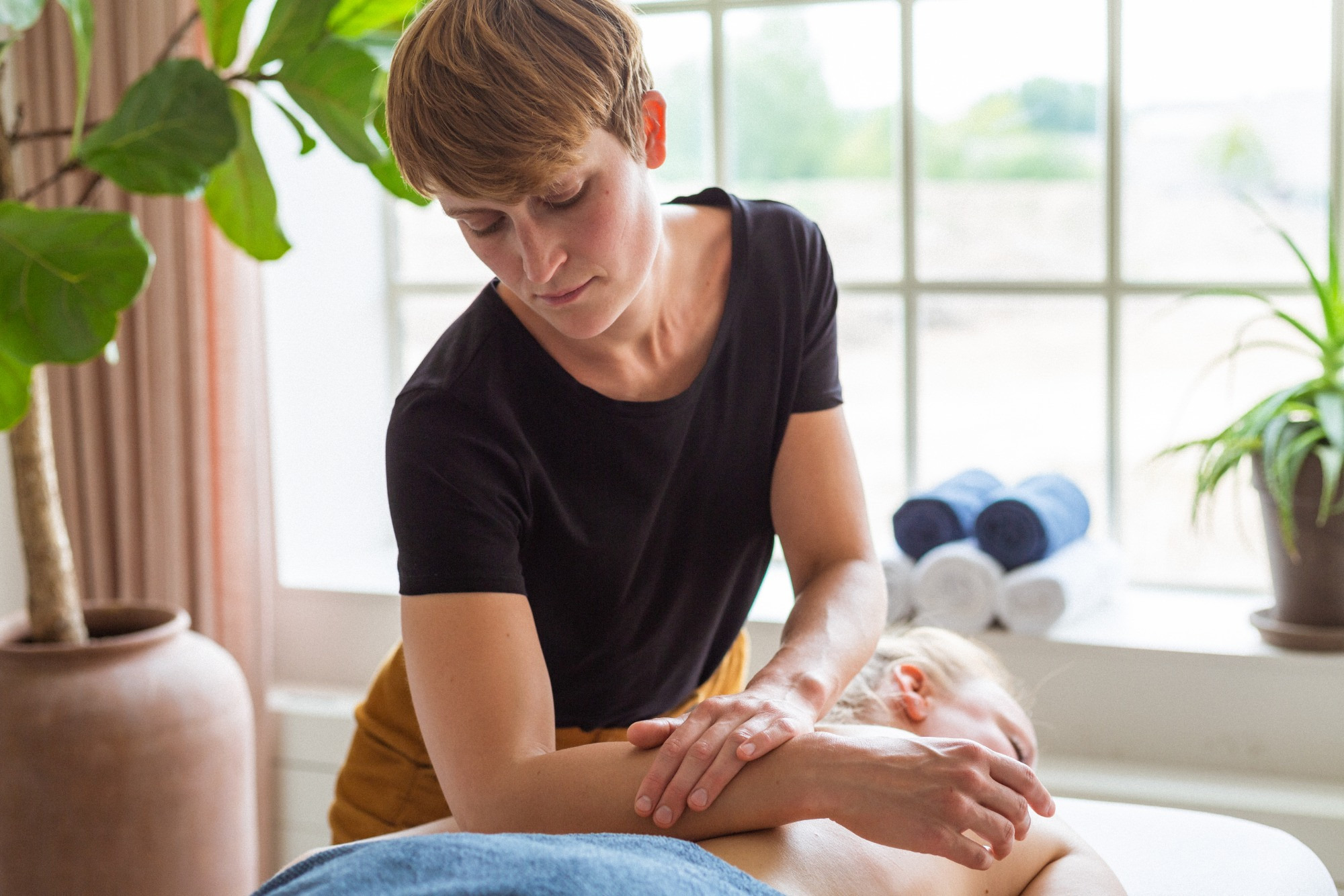 Psoas massage