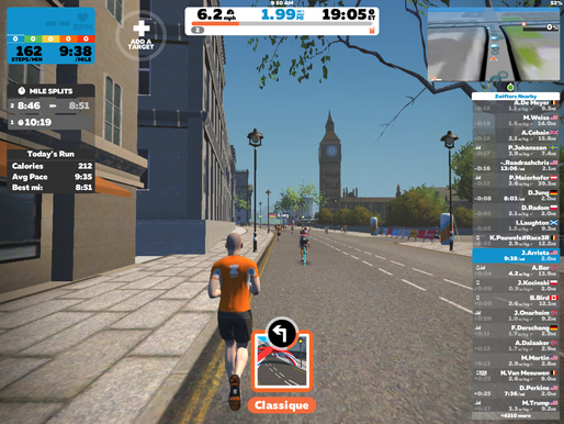 Improve your treadmill runs with Zwift