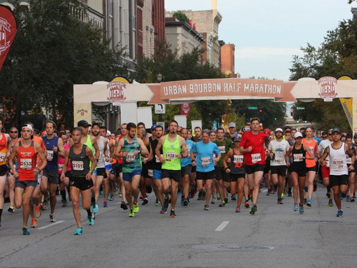 Top 3 things I'm looking for at the Urban Bourbon Half Marathon