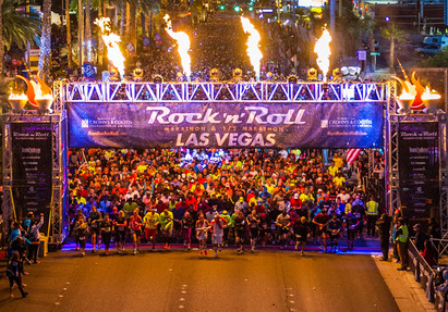 Race plan for Rock 'n' Roll Las Vegas Half Marathon