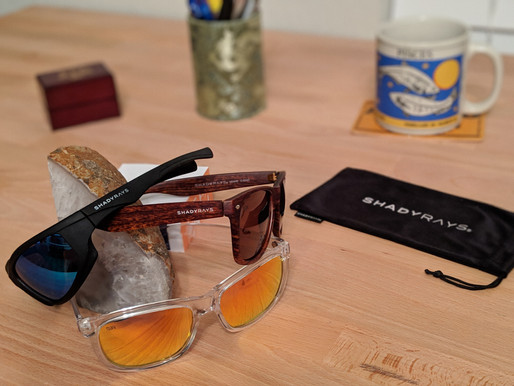 Shady Rays: Versatile and reliable sunglasses