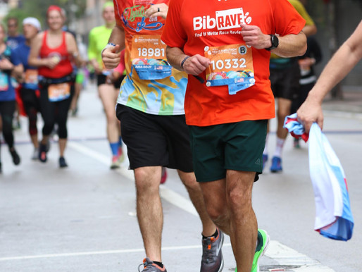 My race plan for the Miami Half Marathon
