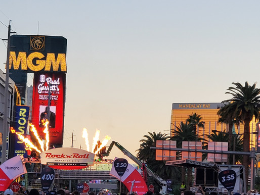 Post Race Review: Las Vegas Rock 'n' Roll Half Marathon