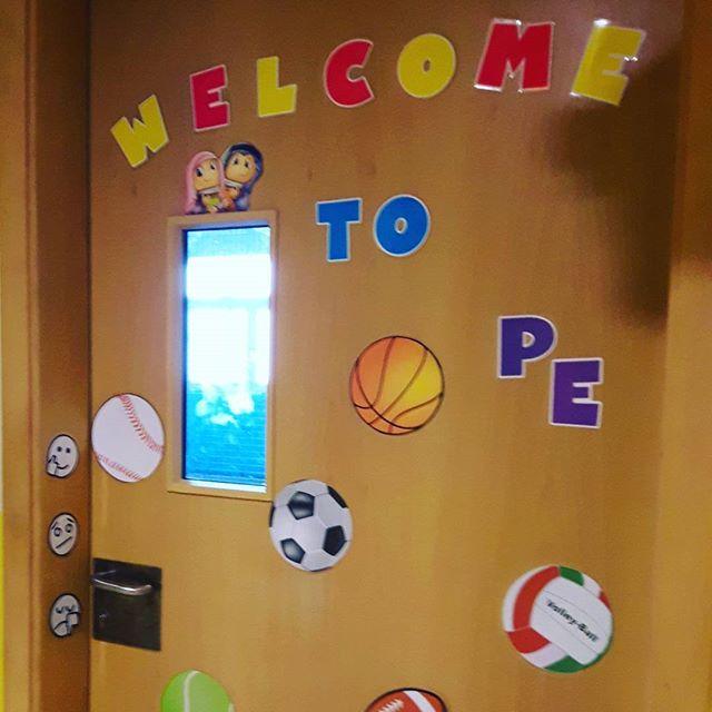 My classroom..