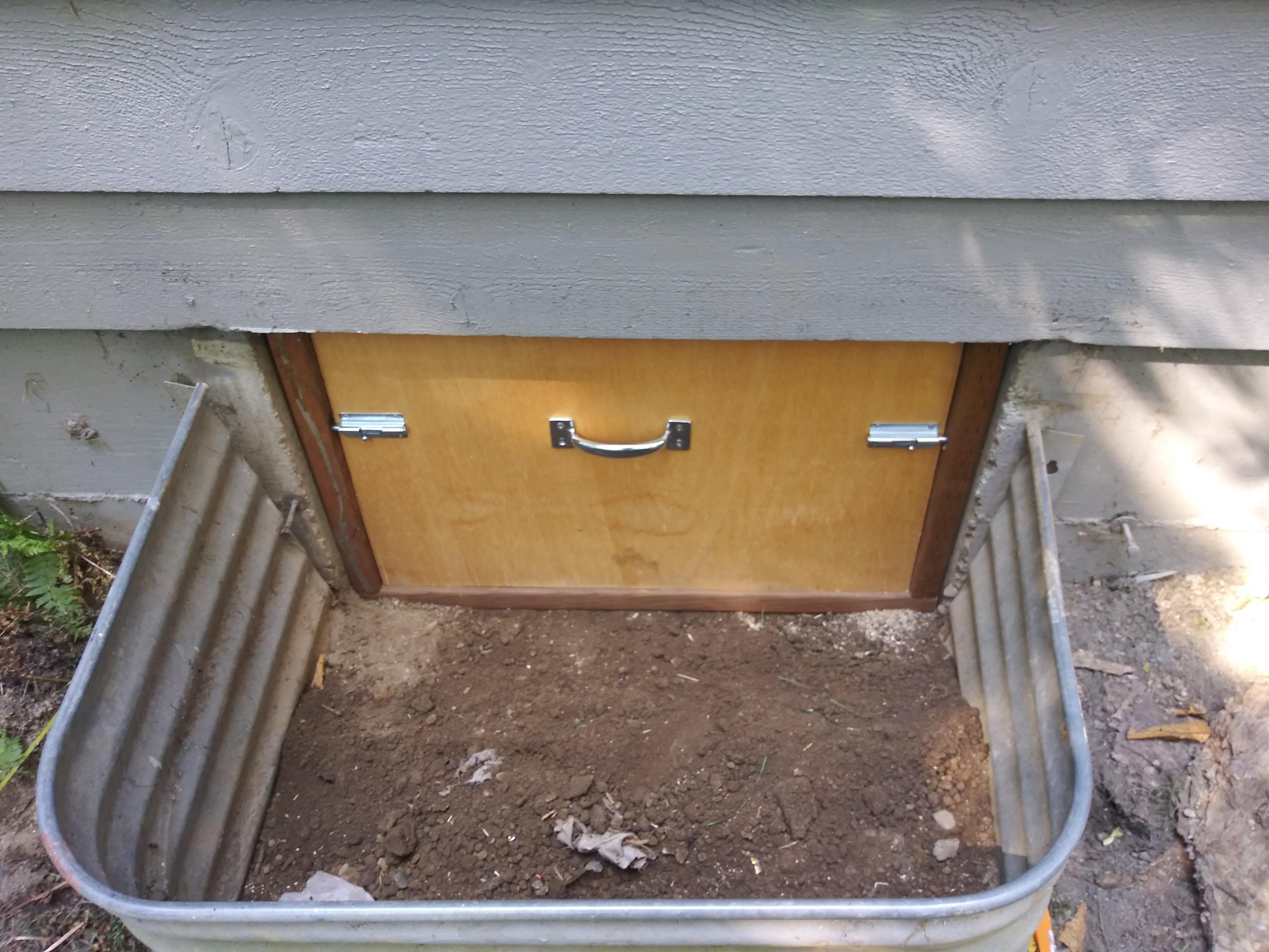 Build Crawl Space Door