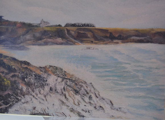 Harlyn Bay, Cornwall, greeting card