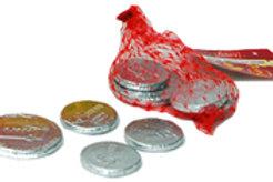 Parve Chocalate Coins 1 pk