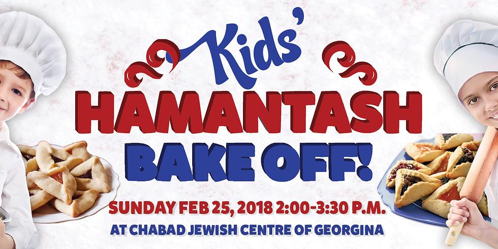 Kids Hamentash Bake off!