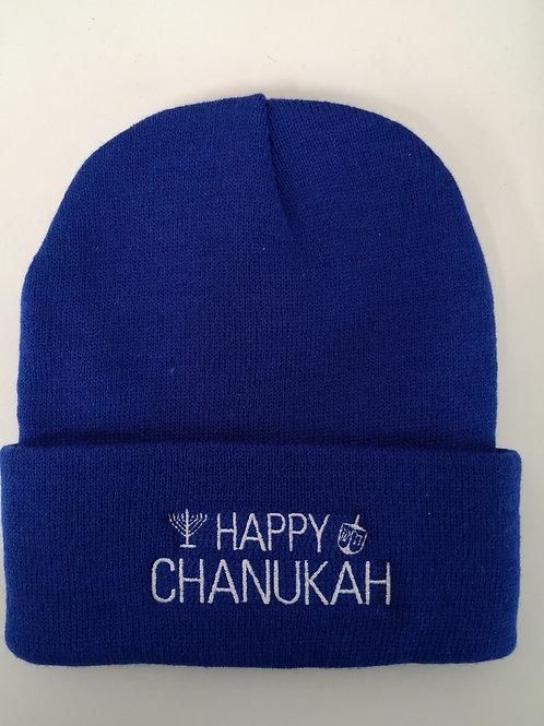 Chanukah Toque - Royal Blue