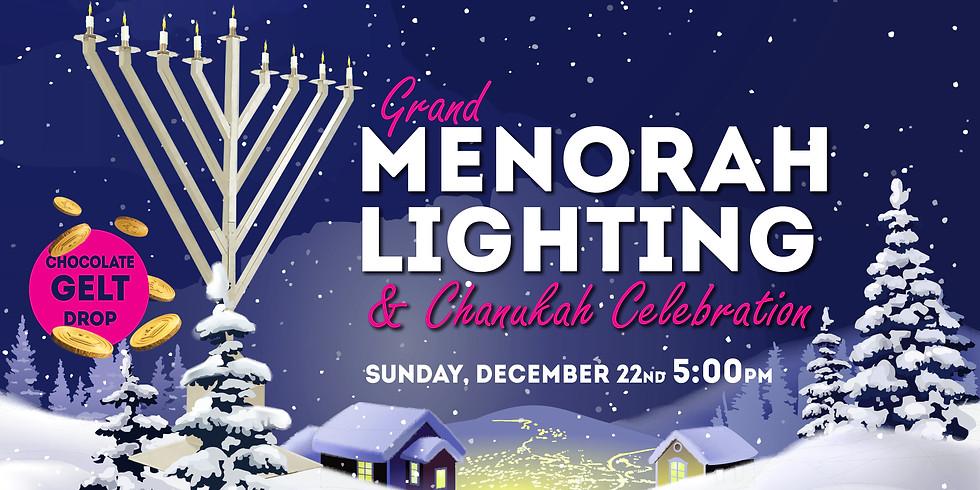 Chanukah Menorah Lighting