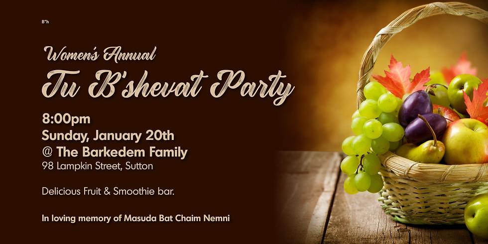 Tu B'shevat Party