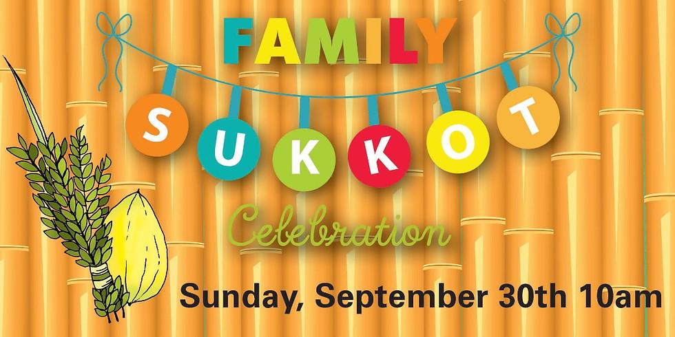 Family Sukkot Celebration