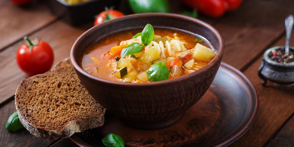 Soup in the Sukkah