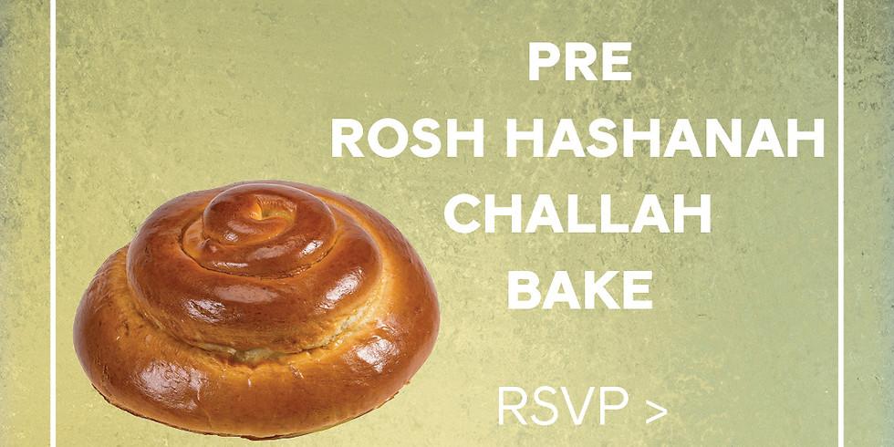 Pre Rosh Hashanah Challah Bake