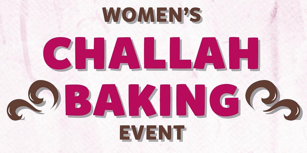 Women Challah Baking