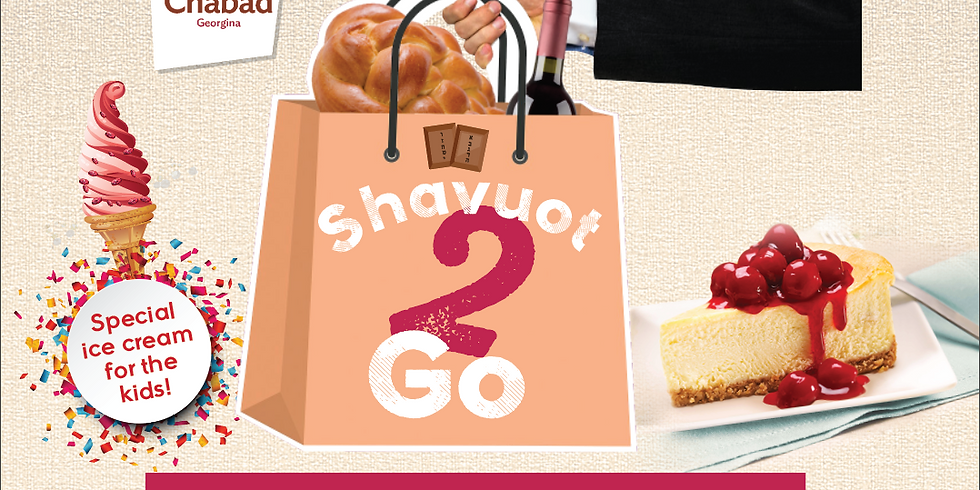 Shavuot 2 Go Packages