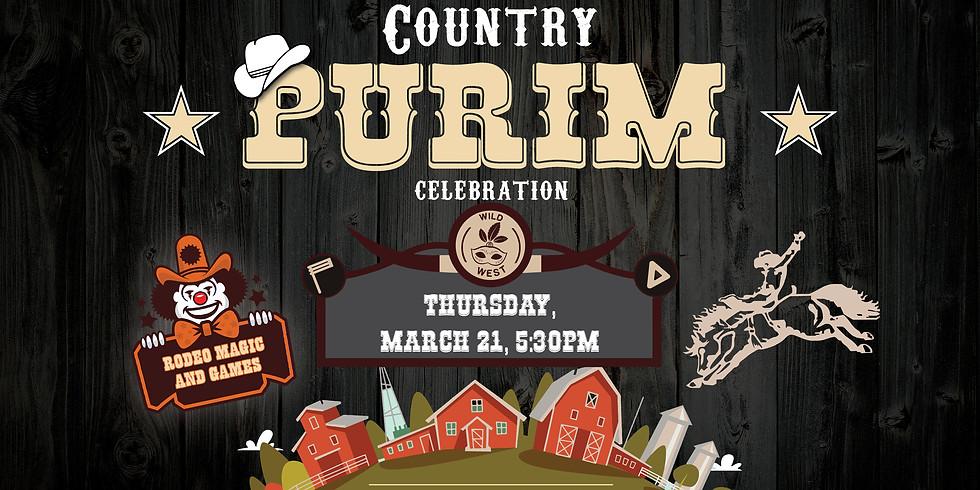 Country Purim Celebration