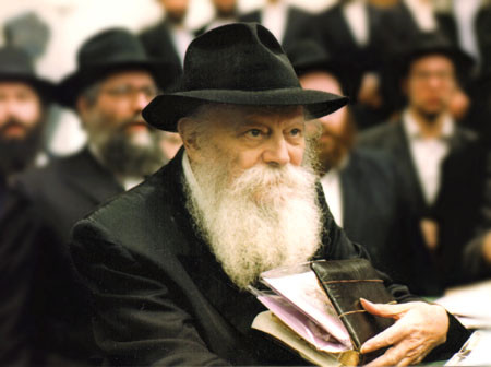 THE REBBE: A Brief Biography