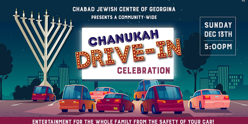 Chanukah Drive-in Celebration
