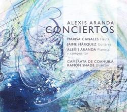 Portada Alexis Aranda 3 conciertos