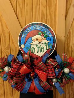 Santa Ho Ho Ho Decor