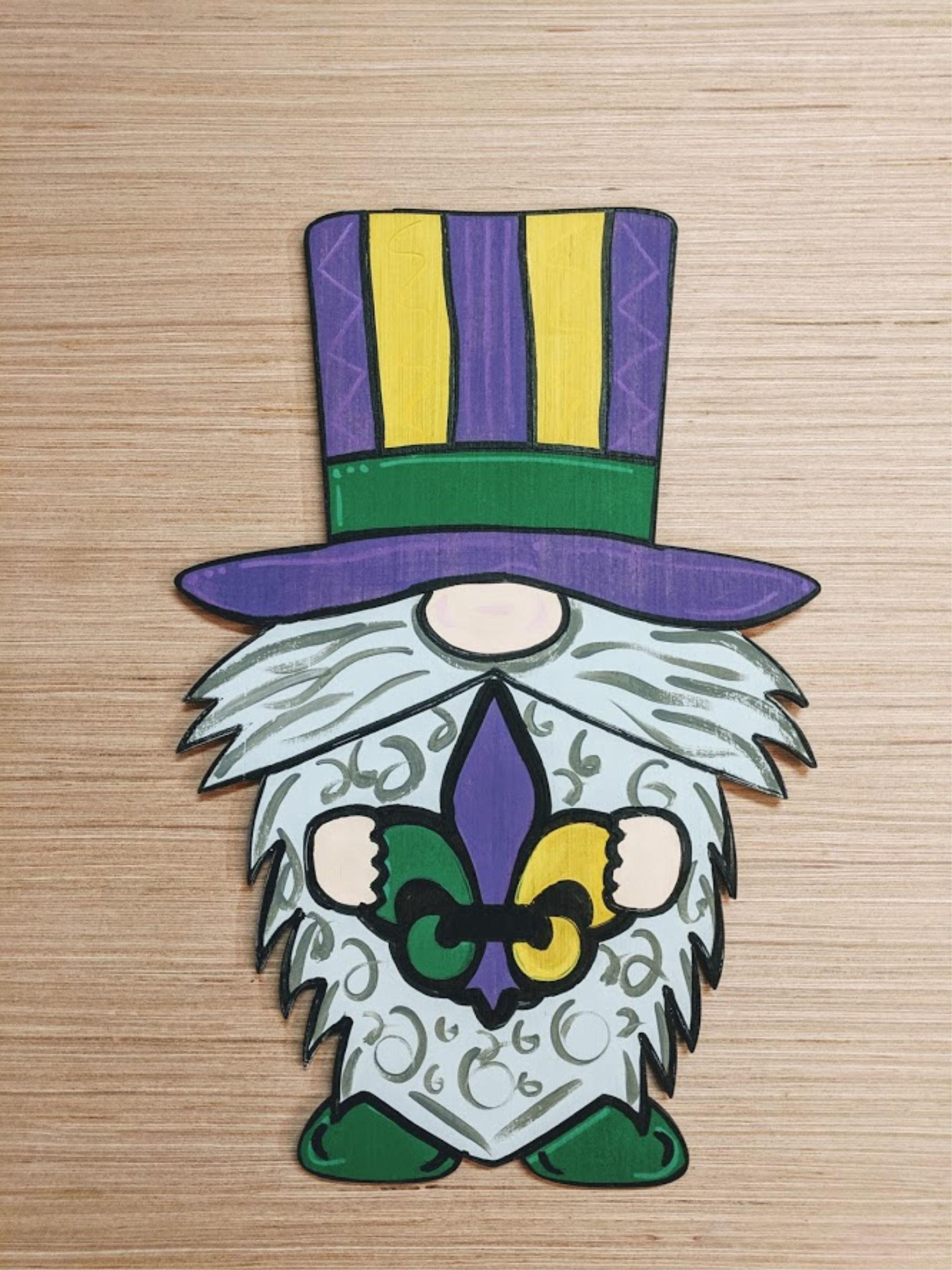 Mardi Gras Gnome