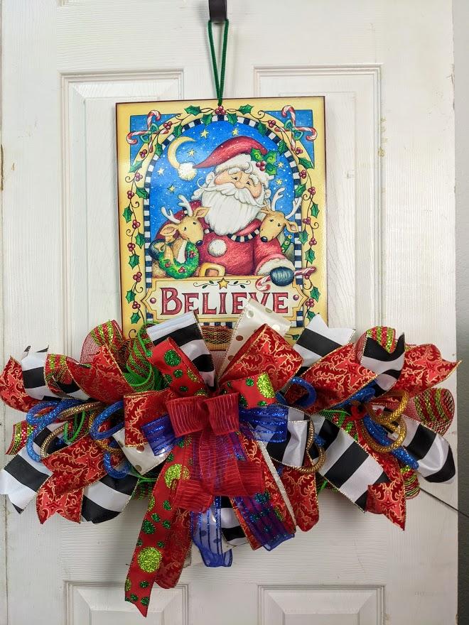 Santa Believe Decor