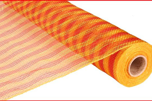 "21"" x 10 yd Thin Stripe Mesh"